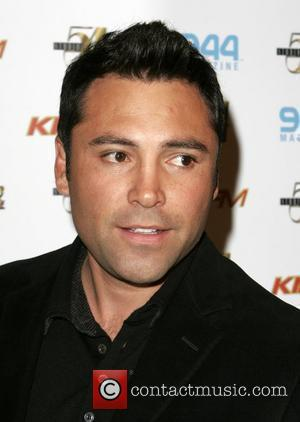 Oscar de La Hoya 54 Below - winter ball celebrating 10 years of Studio 54 inside MGM Grand Hotel Casino...