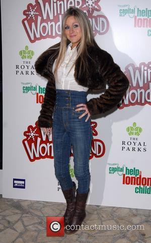 Nikki Grahame Winter Wonderland - launch party in Hyde park London, England - 29.11.07