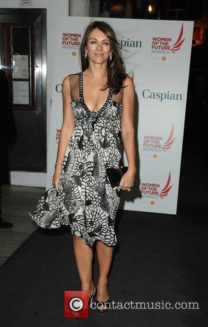 Elizabeth Hurley Women of the Future Awards 2007 held at the Grosvenor Marriott Square Hotel - Arrivals London, England -...