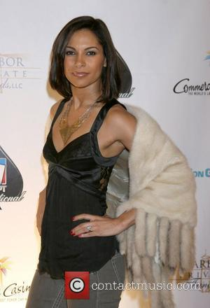 Salli Richardson 6th Annual World Poker Tour Celebrity Invitational held at Commerce Casino - Arrivals Los Angeles, California - 01.03.08