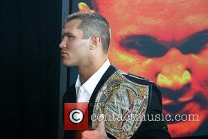Randy Orton At a press conference at the Staples Centre for WrestleMania XXIV taking place on Sunday, March 30th 2008,...