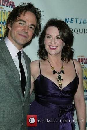 Roger Bart & Megan Mullally Opening Night After Party celebrating the new Mel Brooks musical 'Young Frankenstein' at the Empire...