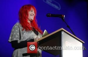 Jane Goldman  presenting an award at the Young Film Critic Awards 2007 held at the Odeon West End in...