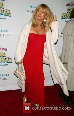 Goldie Hawn, Goldie and Mel Brooks