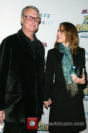 Mike Nichols & Natalie Portman Opening Night of the new Mel Brooks musical 'Young Frankenstein' at the Hilton Theatre -...
