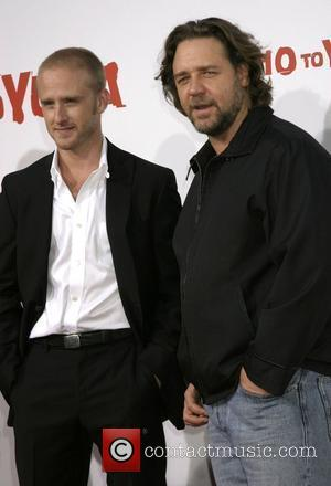 Ben Foster and Russell Crowe Premiere of '3:10 to Yuma' held at the Mann National Theatre Westwood, California - 21.08.07