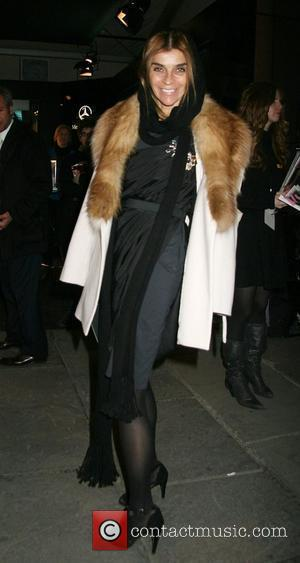 Carine Roitfeld, editor of French Vogue Mercedes-Benz Fashion Week Fall 2008 - Zac Posen - arrivals New York City, USA...