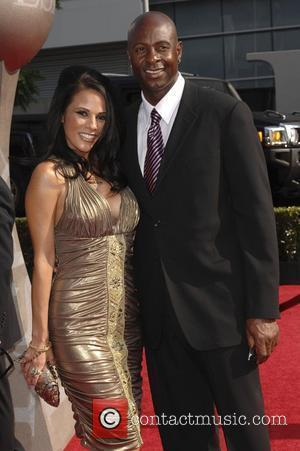 Jerry Rice and Bonnie Jill Laflin The 2008 ESPY Awards held at the Nokia Theater Los Angeles, California - 16.07.08