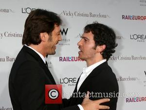 Javier Bardem and Chris Messina