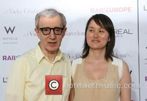 Woody Allen & Soon-Yi Previn  arriving at the LA Premiere of Vicky Cristina Barcelona at the Village Theater in...