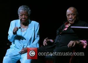 Quincy Jones and Maya Angelou