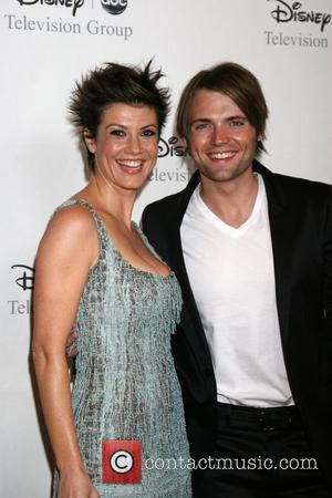 Zoe McLellan and Seth Gabel arriving at the ABC TCA Summer 08 Party Disney and ABC's TCA - All Star...