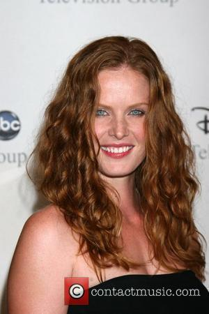 Rebecca Mader arriving at the ABC TCA Summer 08 Party Disney and ABC's TCA - All Star Party at The...