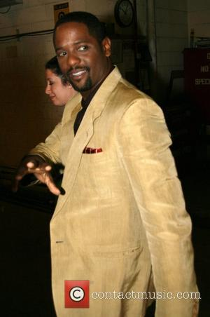 Blair Underwood leaving ABC studios after appearing on 'Live with Regis and Kelly' New York City, USA - 16.09.08