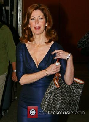 Dana Delany leaving ABC studios after appearing on 'Live with Regis and Kelly' New York City, USA - 16.09.08