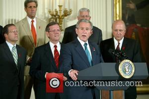 George W. Bush The signing of HR 5501, the Tom Lantos and Henry J. Hyde United States Global Leadership Against...