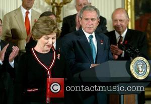 Laura Bush and George W. Bush