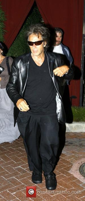 Al Pacino leaving Nobu restaurant looking worse for wear Los Angeles, California - 01.06.08