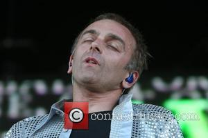 Carl Hyde of Underworld All Points West Festival at Liberty State Park - Day 1 Jersey City, New Jersey -...