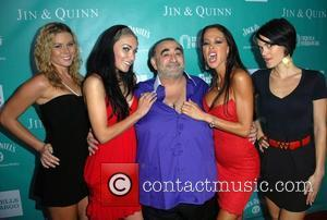 Ken Davitian and Tabatta (second Right)