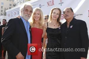 Tommy Chong and Cheech Marin with their wives The 2008 ALMA Awards - Arrivals held at the Pasadena Civic Auditorium...