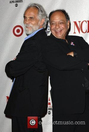Tommy Chong and Cheech Martin The 2008 ALMA Awards at the Pasadena Civic Auditorium - press room Los Angeles, California...