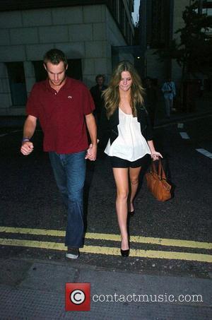 Andy Roddick and Brooklyn Decker leaving Nobu restaurant together London, England - 09.06.08