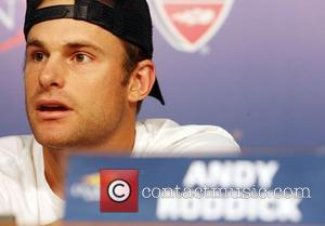 Andy Roddick Arthur Ashe Kids' Day 2008 at the USTA Billie Jean King National Tennis Center in Flushing, Queens New...