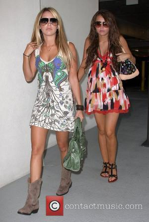 Ashley Tisdale and Miley Cyrus