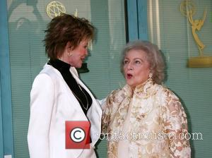 Mary Tyler Moore & Betty White arriving at the ATAS Honors Betty White Celebrating 60 Years on Television at the...