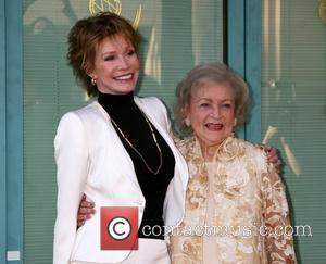 Mary Tyler Moore and Betty White