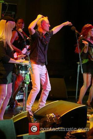 Fred Schneider of the B 52's performing live as part of Pride Week. At the DAR Constitution Hall  Washington...