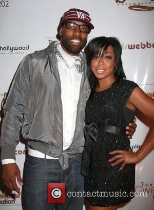 Baron Davis and Tichina Arnold Chris Webber Bada Bling Gala - arrivals at Planet Hollywood Las Vegas, Nevada - 26.07.08
