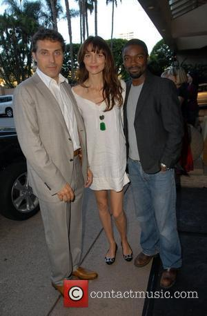 Rufus Sewell, Saffron Burrows and guest The British Academy of Film and Television Arts 6th Annual TV Tea Party held...