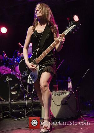 Susanna Hoffs The Bangles performing live at Liverpool Carling Academy Liverpool, England - 03.07.08