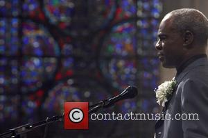 Glynn Turman Celebration of the Life and Legacy of Dr. Barbara Ann Teer at the Memorial Service held at The...