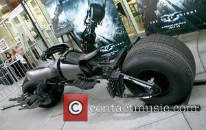 Bat Mobile display at the Archlight theater Hollywood, California - 22.07.08