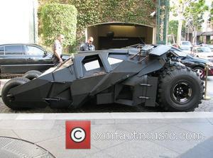 The Batmobile arrives in Beverly Hills ahead of promotion for the new batman film, Batman: The Dark Knight Los Angeles,...