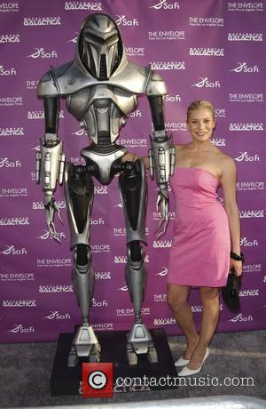 Katee Sackhoff Academy of Television Arts and Sciences and the Scifi Network premiere of the mid-season finale of 'Battlestar Galactica'...
