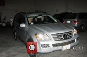 Sandra Beckham and Victoria Beckham
