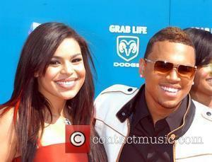 Jordin Sparks and Chris Borwn BET Awards 2008 at the Shrine Auditorium - Arrivals Los Angeles, California - 24.06.08