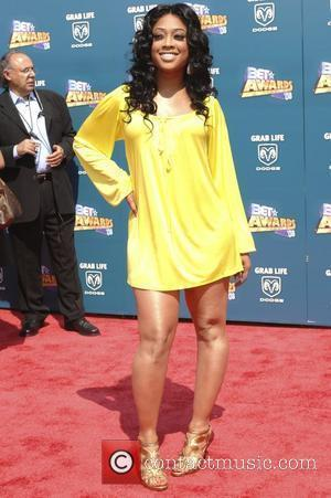 Trina,  BET Awards 2008 at the Shrine Auditorium - Arrivals Los Angeles, California - 24.06.08