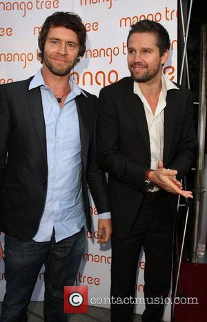 Howard Donald and Jason Orange An evening with Beverley Knight charity event held at the Mango Tree London, England -...