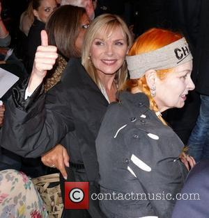 Kim Cattrall and Vivienne Westwood