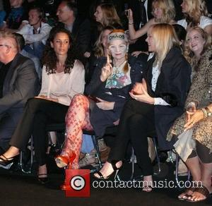Vivienne Westwood, Kim Cattrall sitting front row Vivienne Westwood Fashion Show 'Anglomania' at Bebelplatz Mercedes-Benz Fashion Week Spring/Summer 2009 Berlin,...