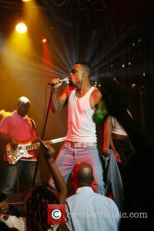 Bilal performing at the Highline Ballroom New York City, USA - 15.08.08