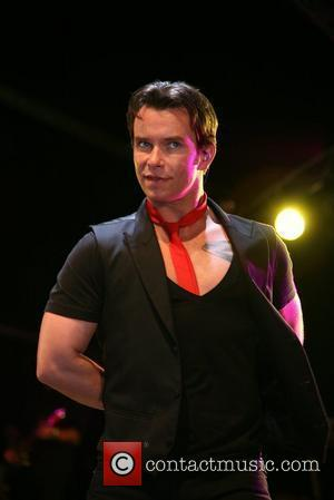 Stephen Gately of Boyzone Annual ceremony as the Blackpool lights are officially turned on Blackpool, England - 29.08.08