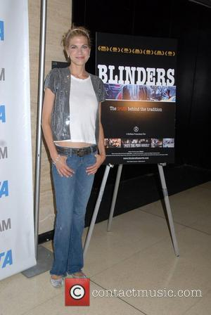 Kristen Johnston PETA hosts a screening of 'Blinders' a documentary about the horse-drawn carriages of New York City New York...