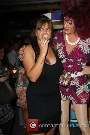 Jade Goody and Gabbi HumanHi Botox themed party held at The Yard and Loft Bar London, England - 02.07.08