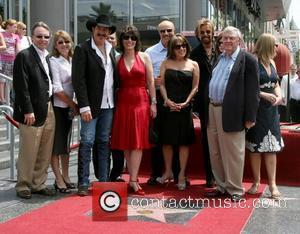 Kix Brooks and Ronnie Dunn with family & friends including Dr Phil and Robin McGraw Brooks and Dunn receive a...
